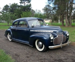 1941 Chevrolet 1940s Chopped Coupe Build by Shagz_outkast