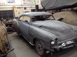 1951 Chevrolet Deluxe Chop Top Build By Johnny Two Tone