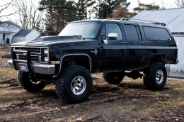 1988 Chevrolet Suburban Lurch Build