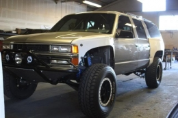 Chevrolet Suburban The Burb Build
