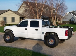 2005 Chevrolet Silverado Prerunner Build by 2prerunIL
