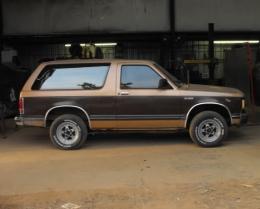 1989 Chevrolet S-10 Blazer 2 Door Build by Oddball